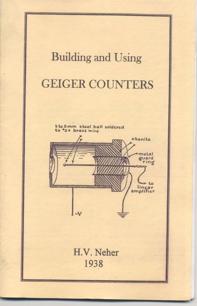 Image for Building and Using Geiger Counters