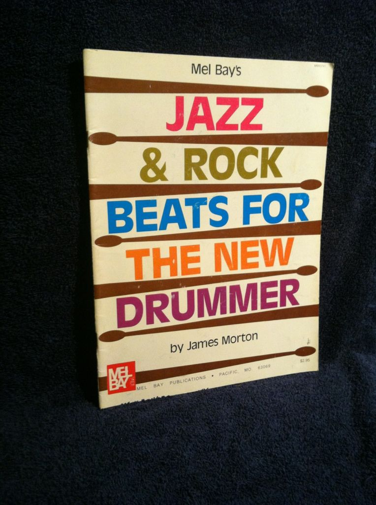 Image for Jazz & Rock Beats for the New Drummer: Drum Set