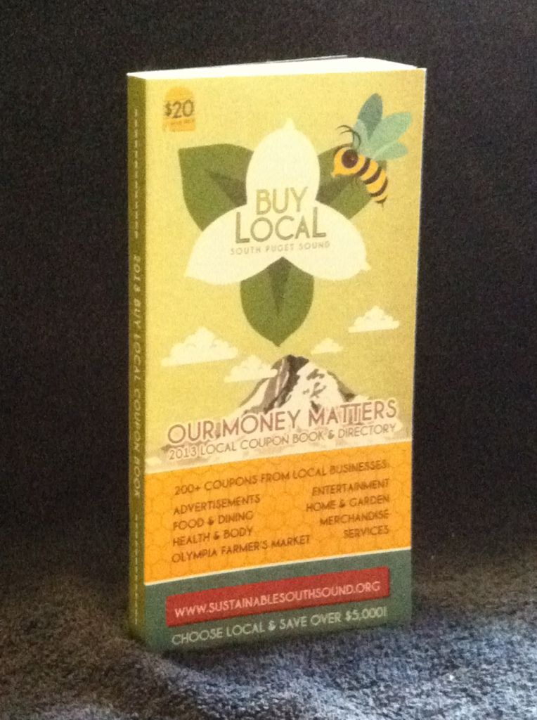 Image for Your Money Matters! Sustainable South Sound's Buy Local Coupon Book