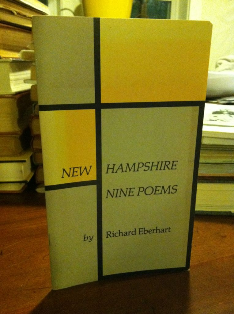 Image for NEW HAMPSHIRE. NINE POEMS