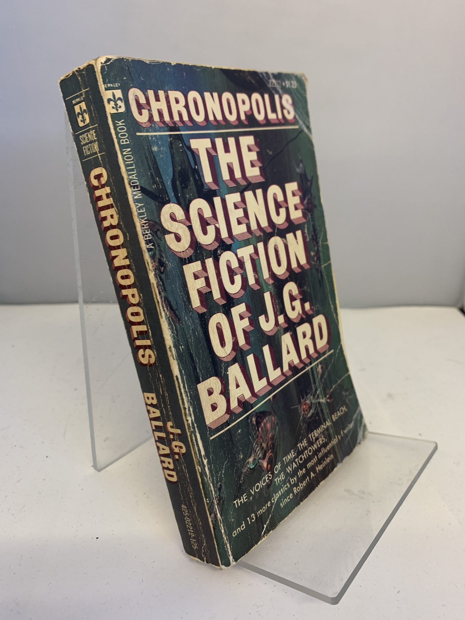 Image for Chronopolis: The Science Fiction of J. G. Ballard