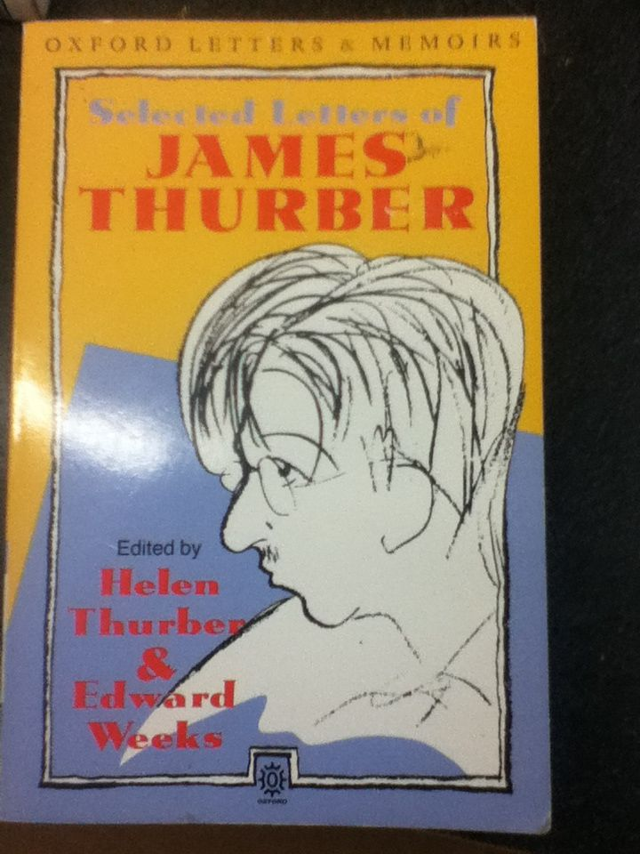 Image for Selected Letters of James Thurber (Oxford Letters and Memoirs) (Oxford Letters & Memoirs)