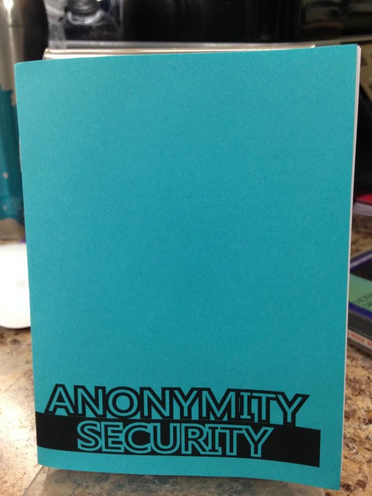 Image for Anonymity/Security
