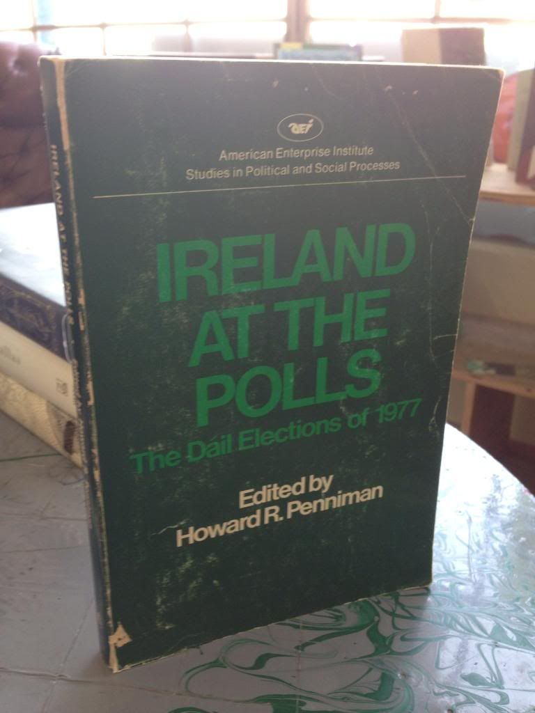 Image for Ireland at the polls: The Da?il elections of 1977 (Studies in political and social processes)