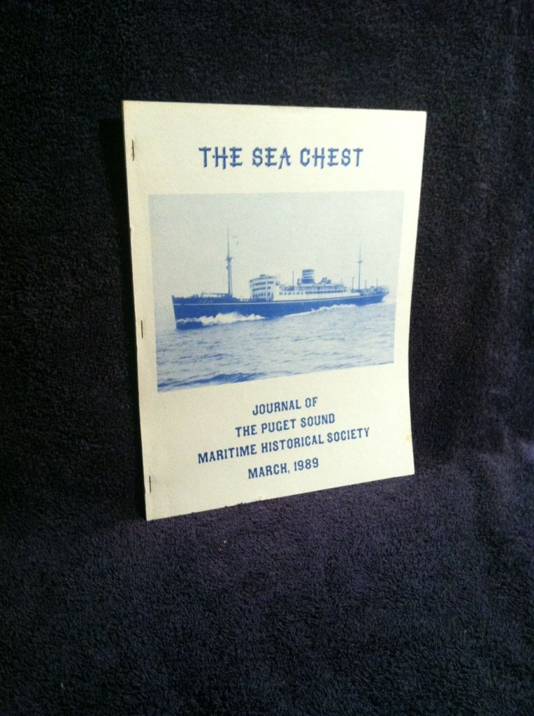 Image for The Sea Chest, March, 1989: Journal of The Puget Sound Maritime Historical Society