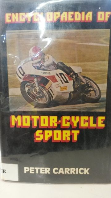 Image for Encylcopedia of Motor-Cycle Sport by Carrick, Peter