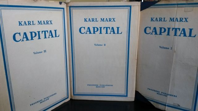 Image for Karl Marx Capital : A Critique of Political Economy [3 Volume Set] Moscow 1977