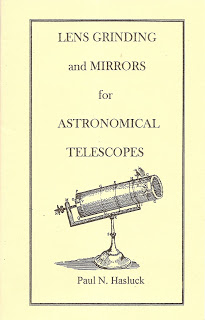 Image for Lens Grinding and Mirrors for Astronomical Telescopes by Hasluck, Paul N.