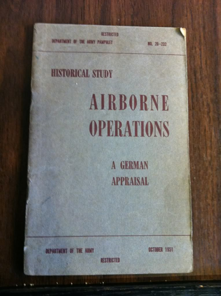 Image for Airborne Operations A German Appraisal