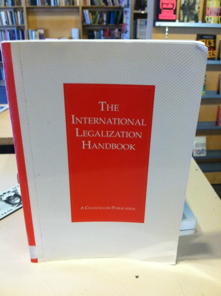 Image for International Legalization Handbook