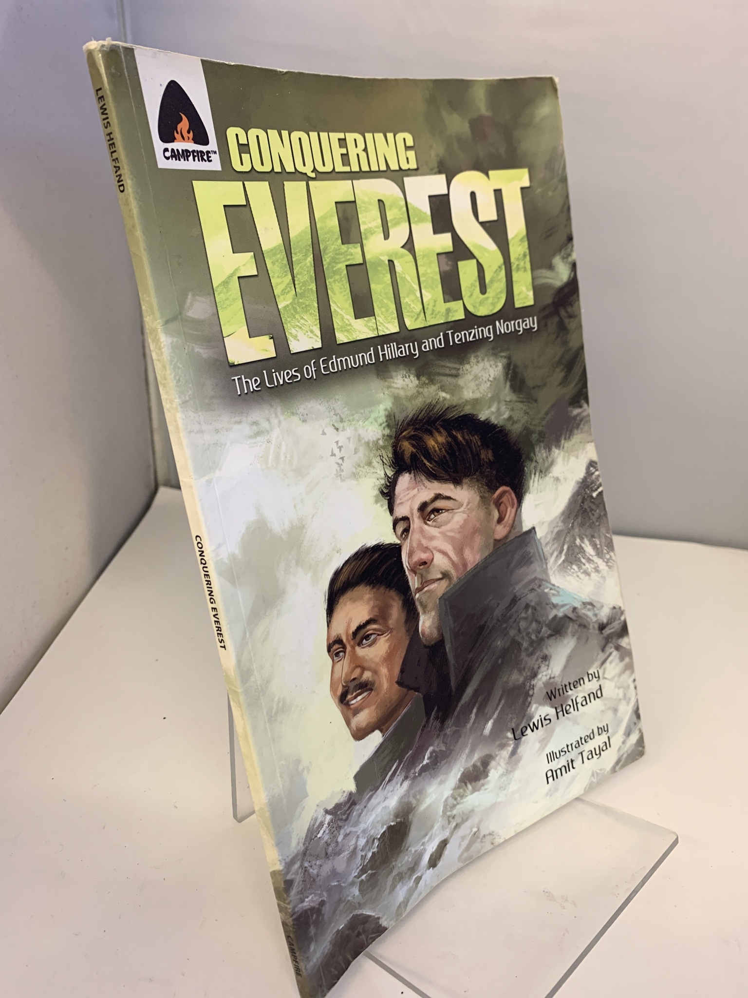 Image for Conquering Everest: The Story of Hillary and Norgay
