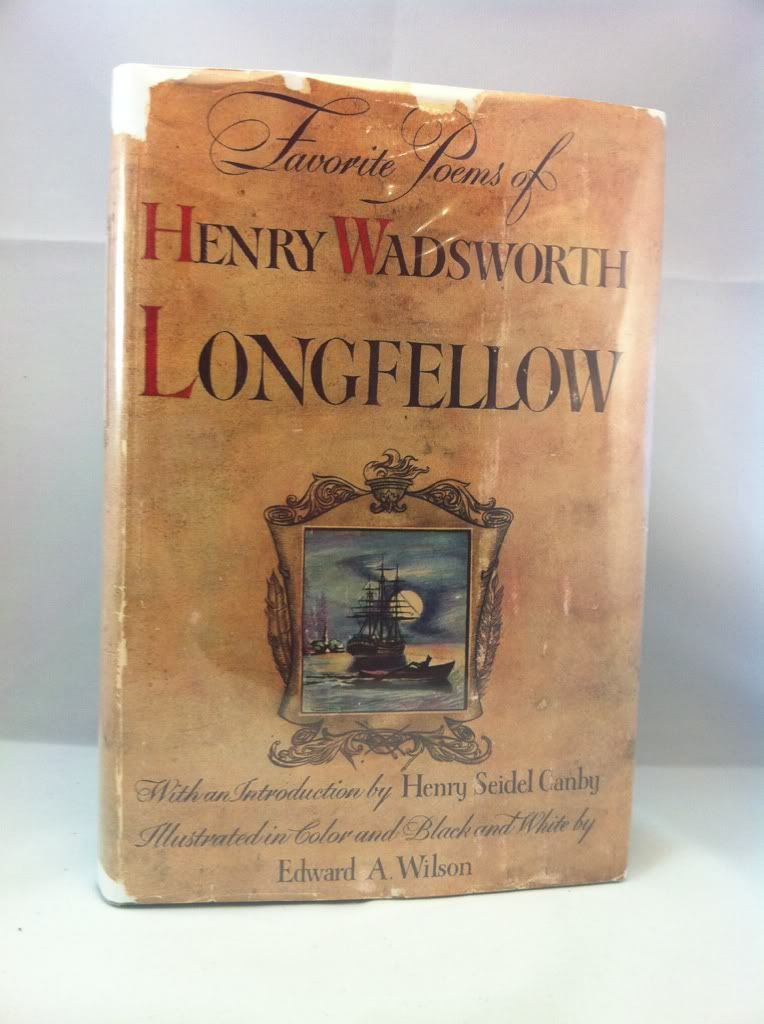 Image for Favorite Poems of Henry Wadsworth Introduction by Henry Seidel Canby