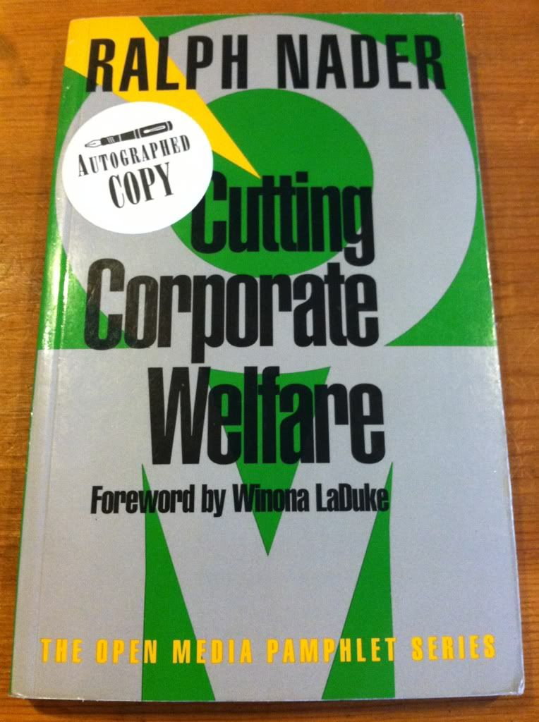 Image for Cutting Corporate Welfare