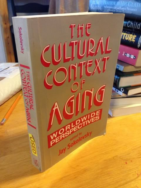 Image for The Cultural Context of Aging