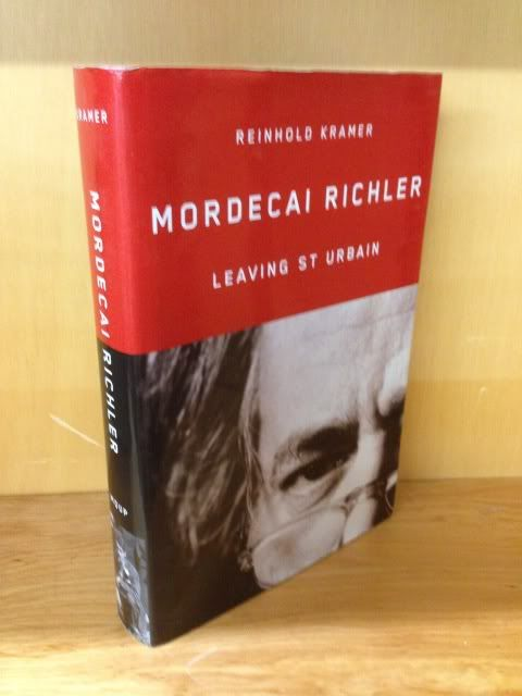 Image for Mordecai Richler: Leaving St Urbain