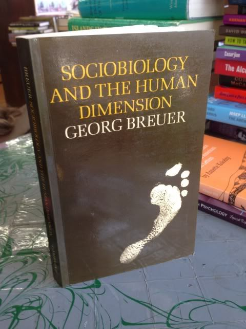Image for Sociobiology and the Human Dimension